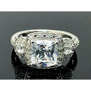 Engagement Ring Brilliance Sterling Zirconia SZ 5
